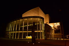 Koncertowy i Kongresowy Hall w Bamberg, Niemcy Zdjęcie Royalty Free