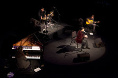 koncertowy Juan Valderrama Fotografia Royalty Free
