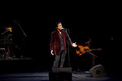 koncertowy Juan Valderrama Fotografia Stock