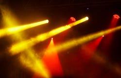 Koncertowy Lekki przedstawienie zdjęcie royalty free