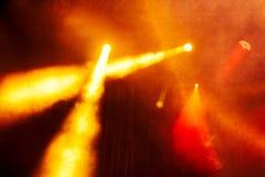 Koncertowy Lekki przedstawienie zdjęcie stock