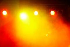 Koncertowy Lekki przedstawienie zdjęcia royalty free