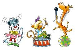 koncertowy śmieszny Royalty Ilustracja