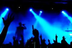 koncertowy tłum Fotografia Royalty Free