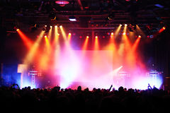 koncertowy tłum Obraz Royalty Free