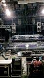 Koncertowy ustawianie w hali koncertowej Fotografia Royalty Free