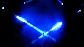 Koncertowy zespół Wohnout Fotografia Royalty Free