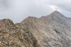 Konchetorand in Pirin-berg, Bulgarije Royalty-vrije Stock Fotografie