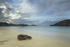 Kondang Merak Beach - Malang, Indonesia Royalty Free Stock Images