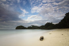 Kondang Merak plaża - Malang, Indonezja obrazy stock