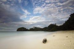 Kondang Merak strand - Malang, Indonesien Arkivbilder