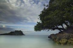 Kondang Merak strand - Malang, Indonesien Arkivbild