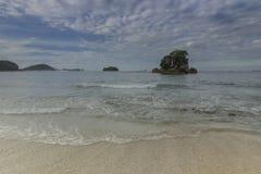 Kondang Merak strand - Malang, Indonesien Arkivfoto
