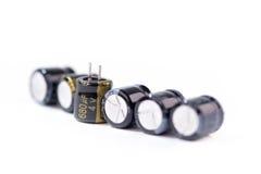 kondensator arkivfoton