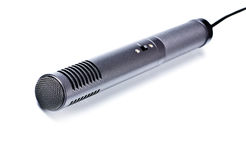 kondensatorgraymikrofon arkivfoton
