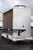 Kondensera enheten för industriellt betingande system för luft Royaltyfria Foton