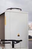 Kondensera enheten för industriellt betingande system för luft Arkivbild