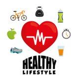 Kondition och sund livsstil Royaltyfria Bilder