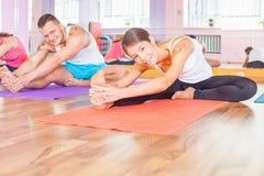 Kondition pilates, några sportaktiviteter, sund kropp arkivfoton