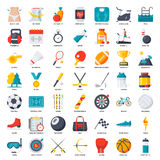 Kondition-, sport- och hälsosymbol vektor illustrationer