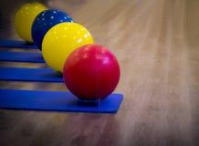 Konditionbollar Fotografering för Bildbyråer