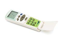 konditionering kontrollremote för luft Fotografering för Bildbyråer