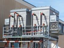 konditionering utrustning för luft royaltyfri foto