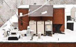 konditionering utrustningkontor för luft Arkivfoton