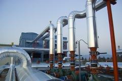 konditionering växtpumpar för luft Arkivbild
