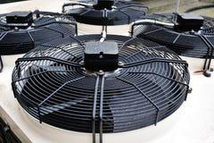 konditionering ventilatorer för luft Arkivbild