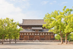 Kondo Hall (1603) of Toji Temple in Kyoto. National Treasure and. Kondo (Main) Hall (circa 1603) of Toji Temple in Kyoto. National Treasure of Japan and UNESCO Stock Image