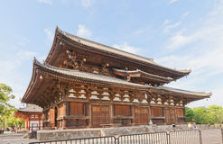 Kondo Hall (1603) of Toji Temple in Kyoto. National Treasure and Stock Photo