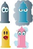 Kondom. Lizenzfreies Stockfoto