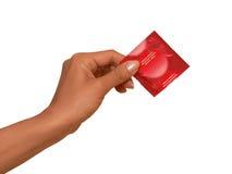 Kondom - sichereres Geschlecht Stockfotos