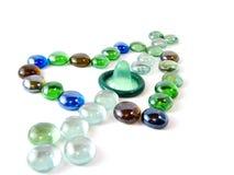 kondoma kierowy mozaiki kształta kamień Zdjęcie Stock