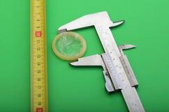 Kondomgröße Stockfotos