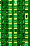 Kondominiumhintergrund Lizenzfreies Stockfoto
