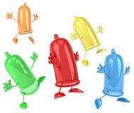 kondomy royalty ilustracja