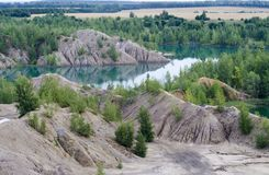 Konduki. Landscape in Tula district Stock Photo