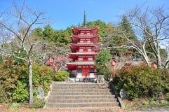 Kondygnaci pagoda Obrazy Stock