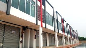 2 kondygnacj Handlowy budynek Obrazy Stock
