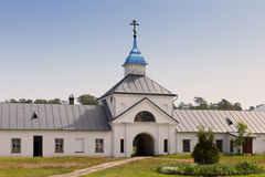 Konevsky Monastery. On the island Konevets, Ladoga Lake, Russia Stock Images