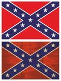 konfederacyjna flaga Fotografia Stock