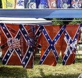 Konfederacyjne flaga Fotografia Royalty Free