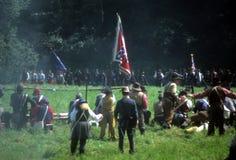 konfederat podpala piechoty zdjęcie royalty free