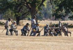 Konfederat siły zdjęcia stock