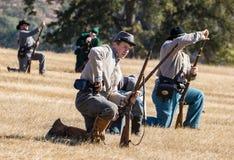 Konfederat siły Przeładowywają fotografia stock