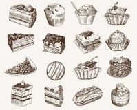 konfekt stock illustrationer