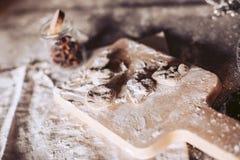 Konfektkakor av olika former Arkivbilder