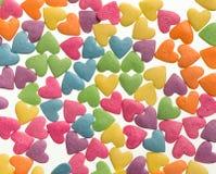 Konfektkonfettier för matgarneringbakgrund Royaltyfria Foton